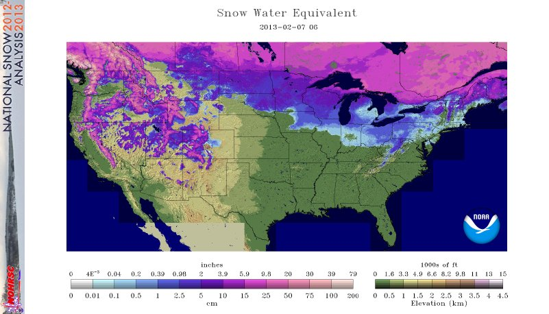 National Snow Analyses