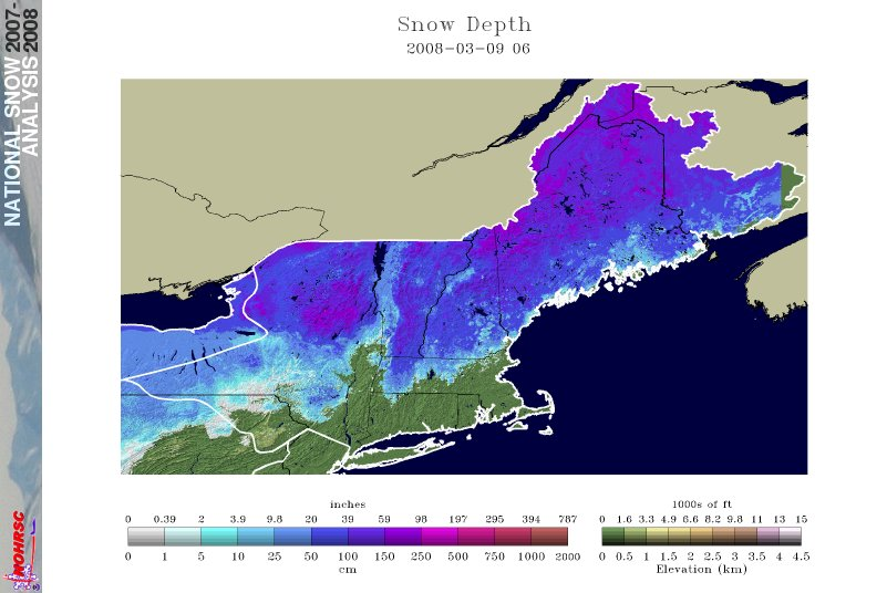 Northeast Snowcover