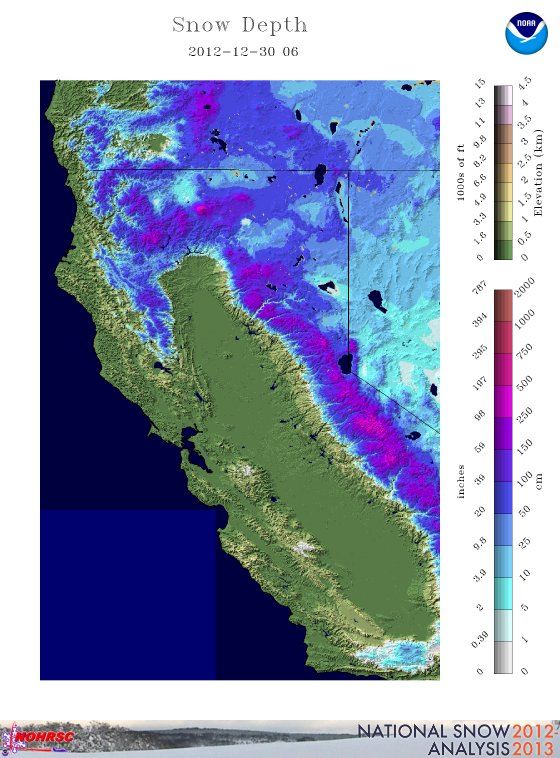 Snowpack Snow Depth