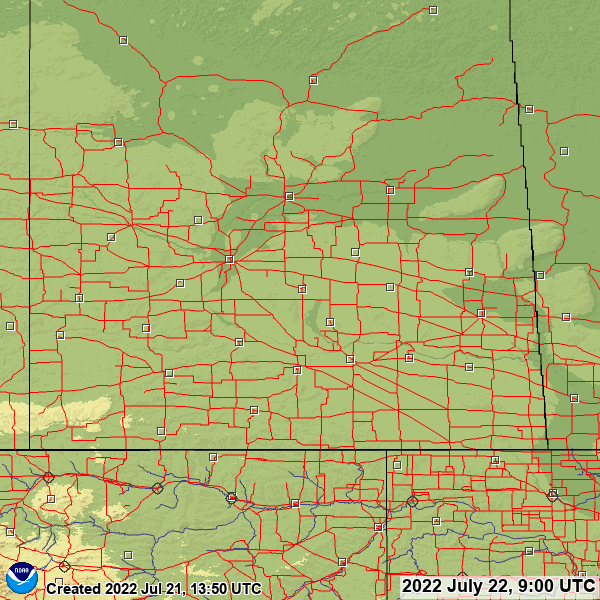 Saskatchewan snow depth