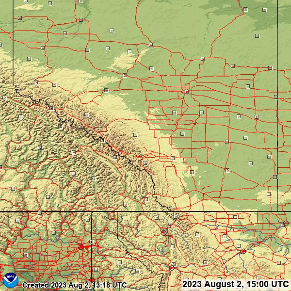 Alberta snow depth