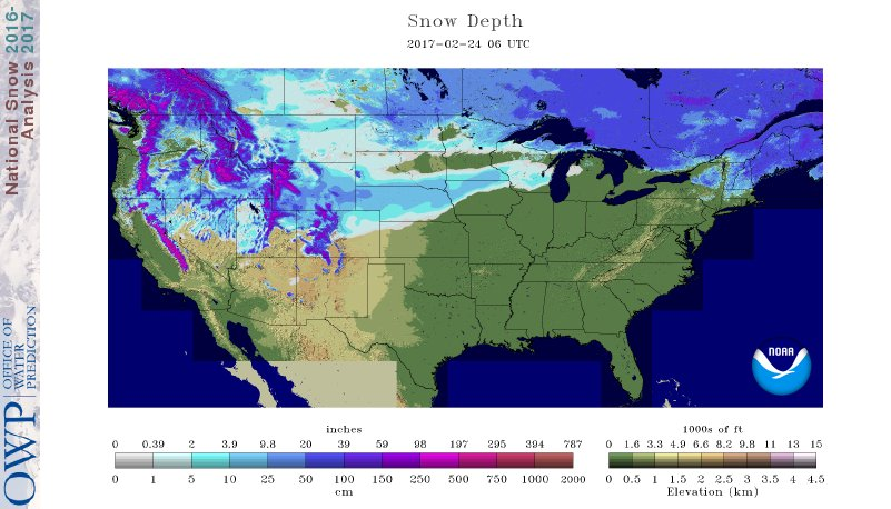 2-24 Snow Cover 31%