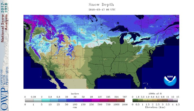 Snow Cover 35%