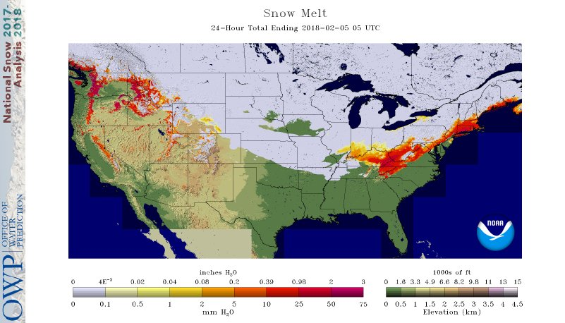 National Snow Analyses NOHRSC The ultimate source for snow