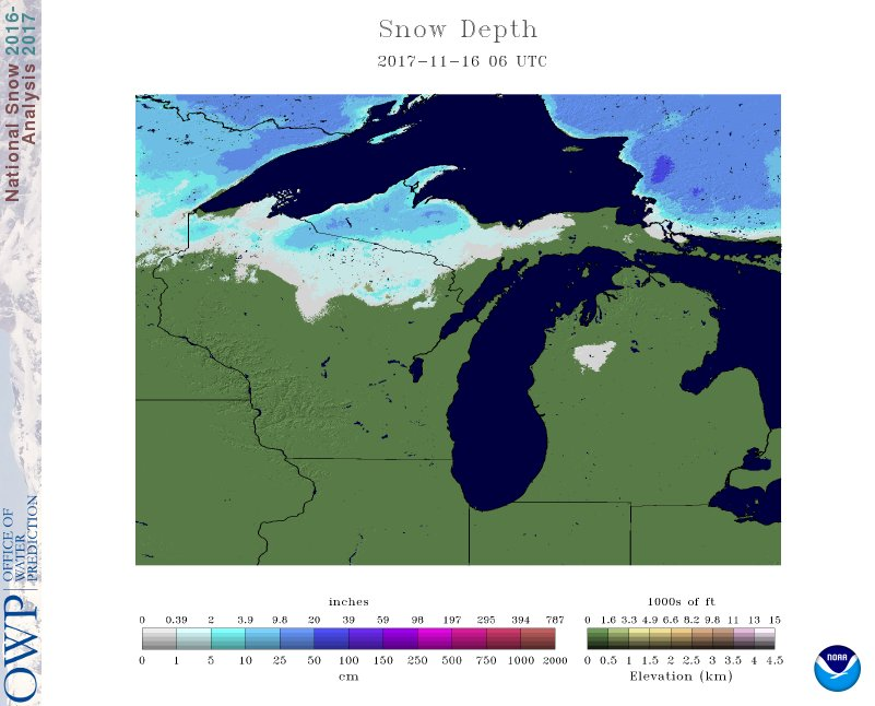 Us Snow Cover Map Weather Com - Us snow cover map weather com