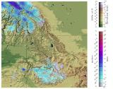 Thumbnail image of Modeled Snow Precipitation