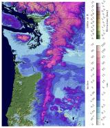 Thumbnail image of Modeled Snow Water Equivalent